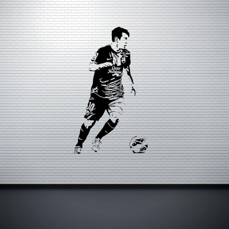 soccer stars SPORT GYM póster decoración del hogar calcomanía - Decoración del hogar - foto 3
