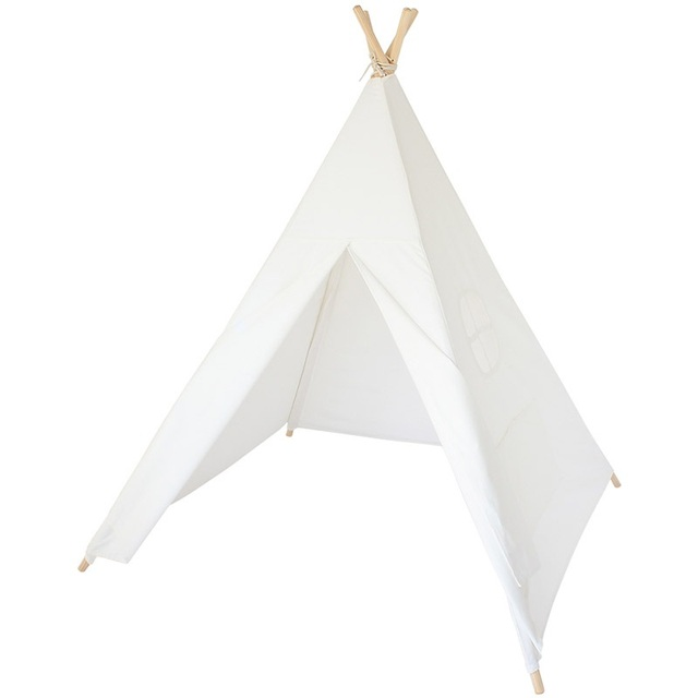Four Wooden Poles Children Teepees Kids Indian Tent Cotton Canvas Teepee White Playhouse for Baby Room  sc 1 st  AliExpress.com & Four Wooden Poles Children Teepees Kids Indian Tent Cotton Canvas ...