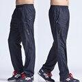 2017 Nuevos Hombres de Pantalones Activos Fuera Más Tamaño 6XL Largo Quick Dry Men Pantalones Activo Elástico de La Cintura de Los Hombres Pantalones de Ejercicio