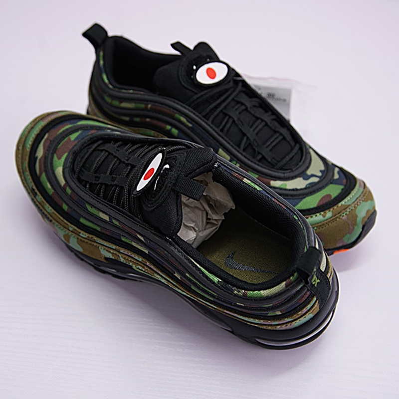 cheap for discount bf7c5 5ebe0 Original New Arrival Official Air Max 97 Premium 97 Country Camo Japan  Men's Running Shoes AJ2614