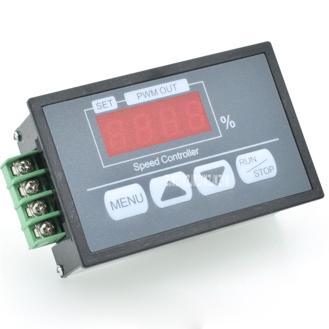 US $10 67 8% OFF|Q8 42S Motor Controller Button Governor Digital Display  Percentage Tachometer DC Motor Slow Start Slow Stop Controller DC6 60V-in