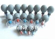 Envío gratis 18 unids/set HACI Magnética acupresión ventosa, herramientas de cuidado de la salud