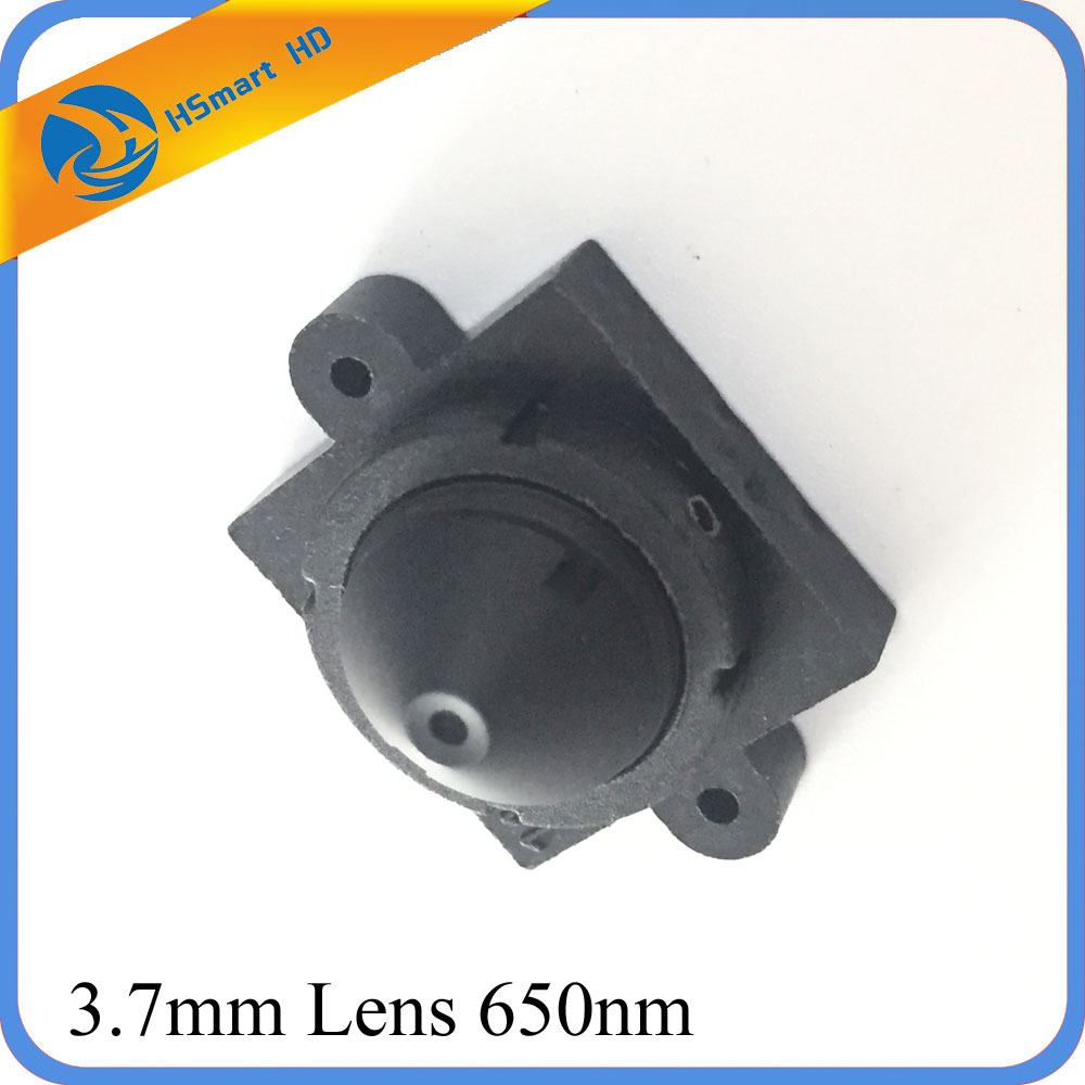 New Camera Cctv Pinhole 3.7mm Lens Mini 1/3 Lens 650nm For HD CCTV Camera M12*0.5 Lens Mount.