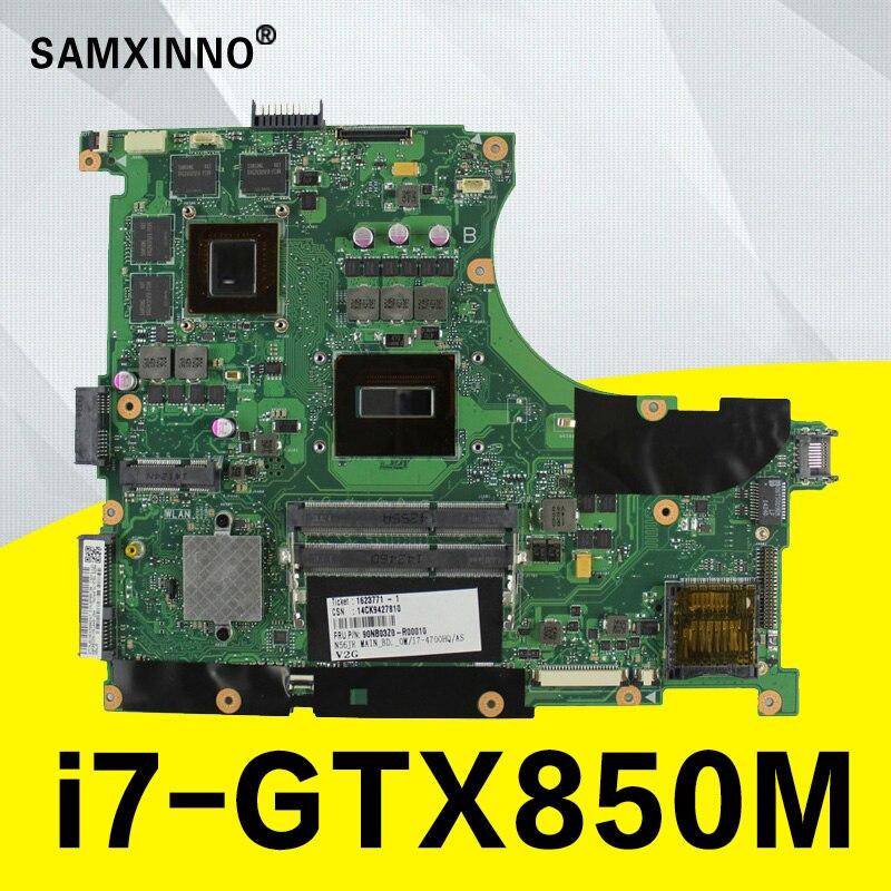 N56JK Carte Mère I7-GT850 4g Pour ASUS G56J G56JK N56JK Mère d'ordinateur portable N56JK Carte Mère N56JK Carte Mère test 100% OK