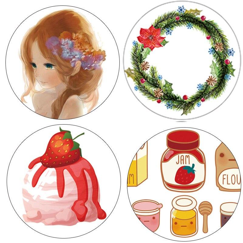 DIY Japanese Paper Washi Tapes Floral Girls Colored Masking Tapes Decorative Adhesive Tapes Scrapbooking Tools kawai 10m Alideco