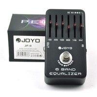 JOYO JF 11 6 Band EQ Graphic Equalizer Guitar Effect Pedal