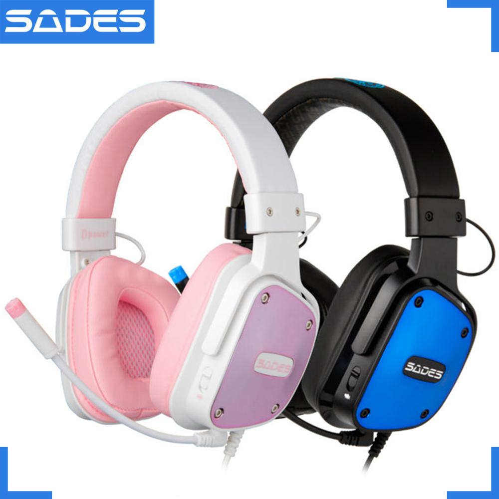 SADES Dpower Professional e-Sports Headphones Multi-platform Lovers Headsets for PC/Xbox One/PS4