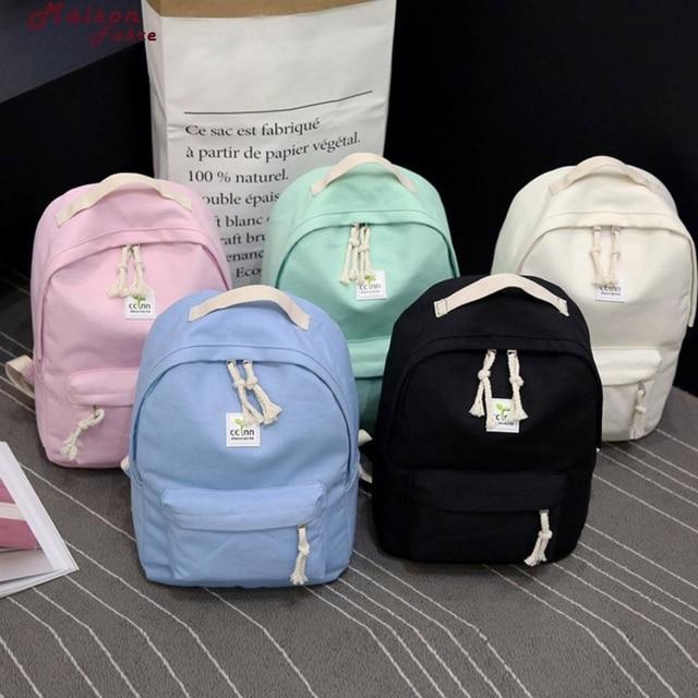 Maison Fabre Backpack Boys Girls Rucksack Shoulder Bookbags School Bag  Satchel Travel Canvas Backpack Drop Shipping 2018f23 dc9b3c90de