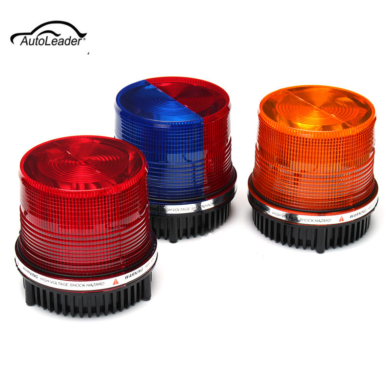 1Pcs Car Emergency Warning Hazard Light LED  Flashing Beacon/Strobe Light for Truck Boat Car