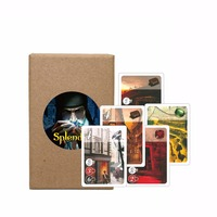 Romancard Splendor Board Game Full English Version Investment Financing Family Playing Cards Game