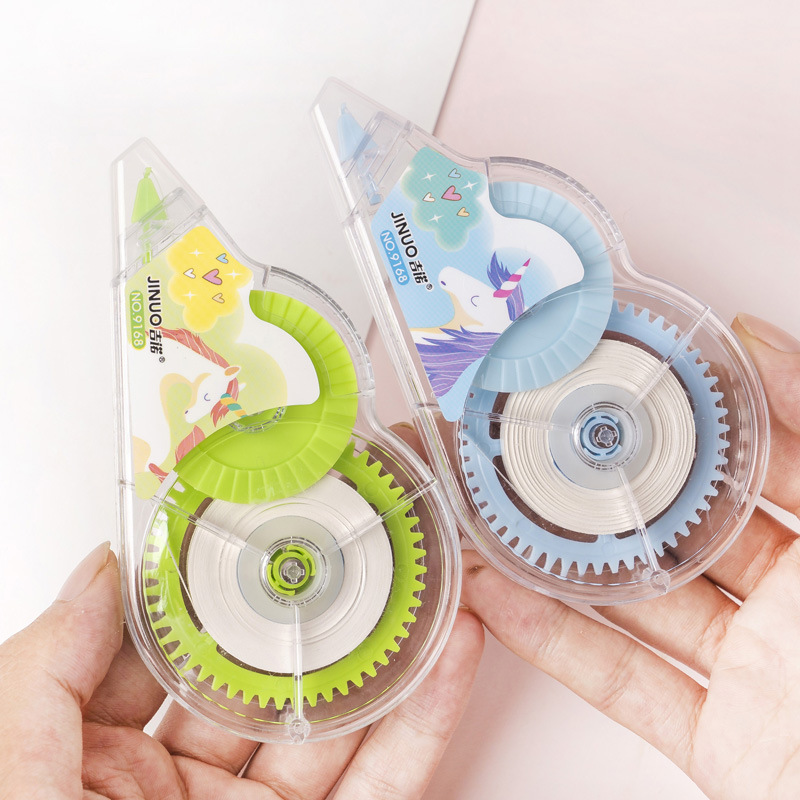 10X 30m Kawaii Cartoon Unicorn Correction Tape Pen Ink Erase Tape Student Stationery School Office Supply