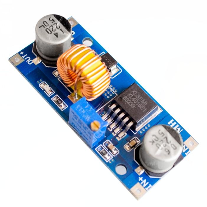 5A XL4015 DC-DC abaisseur réglable Module d'alimentation LED chargeur de Lithium