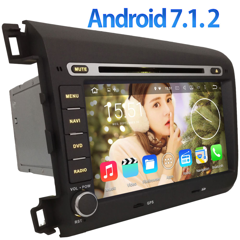 8 Quad Core 4G LTE SIM WIFI Android 7 1 2 Multimedia GPS Navi DAB USB