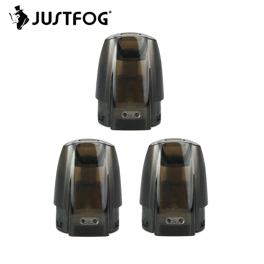 100% Original JUSTFOG MINIFIT Pod With 1.5ml Capacity & 1.6ohm Japanese Organic Cotton Coil & Safe Refilling Design Spare Part