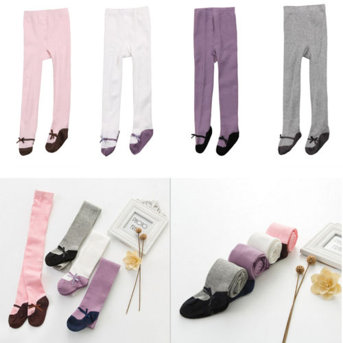 Toddler Baby Girls Cotton Tights Socks Stockings Thermal Hosiery Pantyhose one