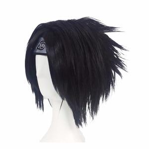 Image 5 - JP أنيمي ناروتو اوتشيها Sasuke 2nd جيل تأثيري حلي مجموعة كاملة الأسود موحدة هالوين كرنفال ملابس تنكرية للحفلات الباروكة