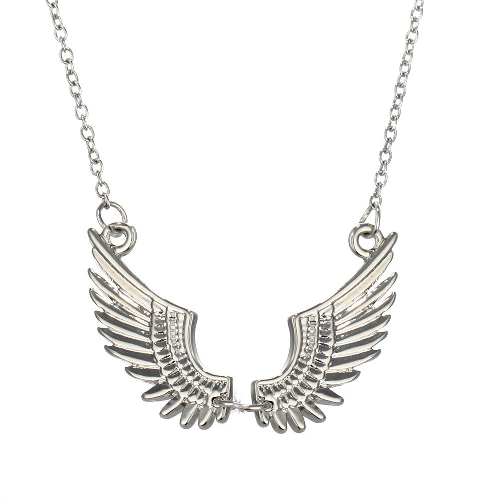 European Fashion Joker Angel Of Wing Necklace Accessories Foreign Trade Supply Of Goods In Stock jewelry SHL430 xiangl choker