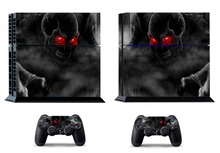 Dark Skull 205 PS4 Skin PS4 Sticker