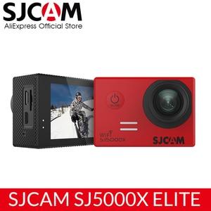 Image 1 - الأصلي SJCAM SJ5000X النخبة عمل كاميرا واي فاي 4K 24fps 2K 30fps الدوران الرياضة DV 2.0 LCD NTK96660 مقاوم للماء الرياضة DV