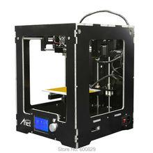 Assembled Desktop 3D Принтер A3 Строительный Объем 150*150*150 мм ЖК-Экран 12864 Нити 1.75 мм PLA/ABS/HIPS