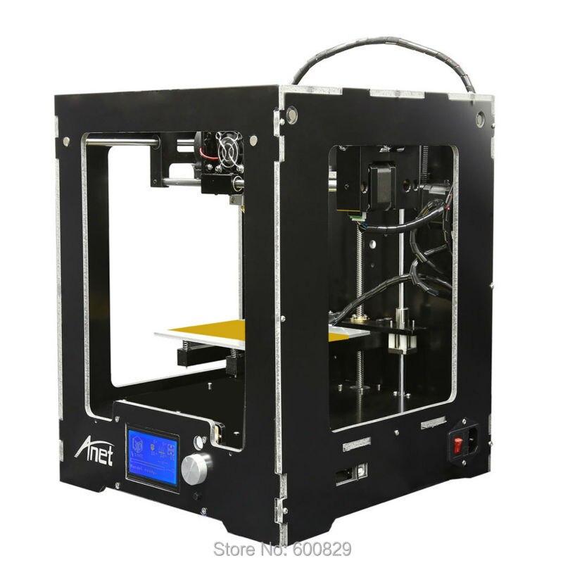 SENHAI3D Assembled Desktop SH18-A3 3D Printer Building Volume 150*150*150mm LCD Screen 12864 Filament 1.75mm PLA/ABS/HIPS