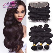 Peruvian Virgin Hair with Closure 13×4 Ear to Ear Lace Frontal Closure with Bundles 3 Pcs Human Hair Body Wave with Closure