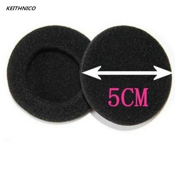 цена на 10Pcs 2 50mm Foam Ear Tips Bud Headphone Earpads Replacement Sponge Covers Headset Earphone MP3 MP4 Size Of 5cm-6cm Ear Pads