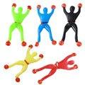 Productos de la novedad Del juguete del Hombre Araña limo Viscosa Escalada Spider-Man figura de acción de exprimir una pieza artilugios divertidos juguetes para niños de regalo