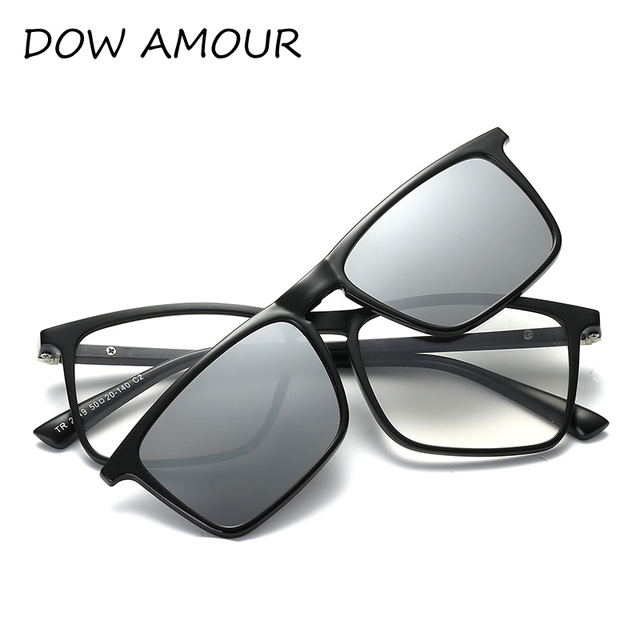 2017 TR Sunglasses Plastic Titanium Glasses Frame With Magnetic ...
