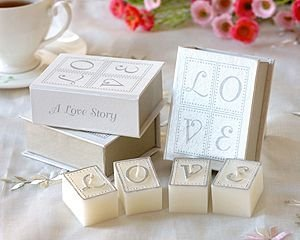 New Arrival Factory Directly Sale 50pcs/lot Wedding Favor-book Of Love Candle Set (1set Of 4 Pcs) Wholesale