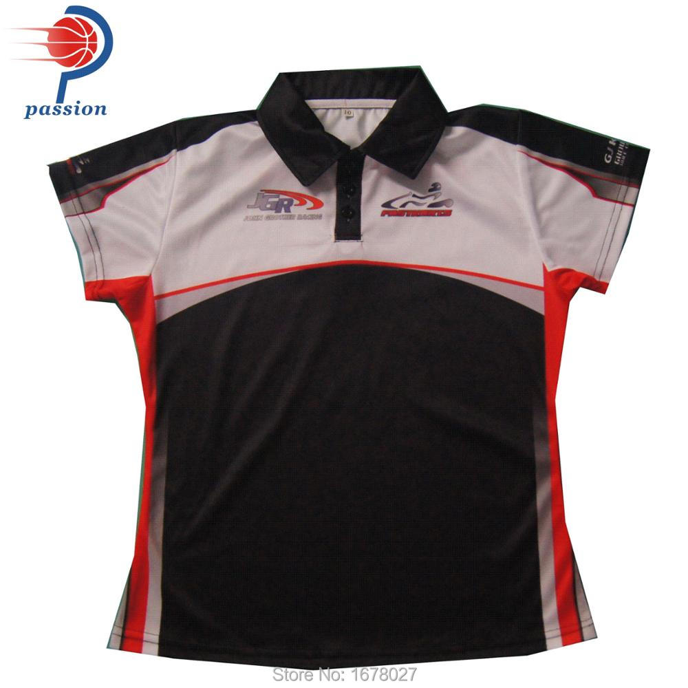 top-rated latest retro structural disablities US $130.0 |Sublimated Lady Polo Shirts Custom Black and Red Polo Racing  Shirts-in Tennis Shirts from Sports & Entertainment on AliExpress - ...