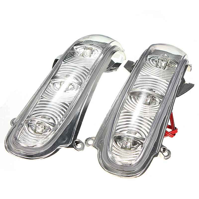 1 pair front turn signals lights for mercedes benz w220 for Mercedes benz side mirror turn signal