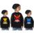 Mundo del Juego Pokemon Móvil Caliente Ir Impreso Camiseta de Algodón Pokemon Pokemon Niños camiseta Muchachos Camisa de Manga Larga Camisa niños