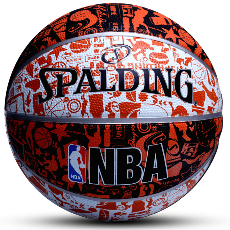 Original Spalding Basketball 7th Students Men Competition Basketball Ball Equipment Sufficient Supply