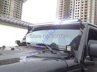 1 шт. светодио дный 10 400 Вт Super slim DC12V 24 В ip68 водонепроницаемый 6000 К 40 дюймов 400 Вт 3D светодио дный свет бар для грузовик авто внедорожник ATV авто
