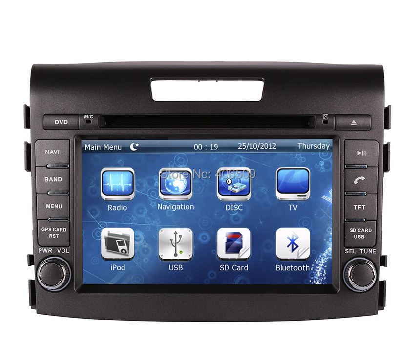 Car DVD Player GPS Navigation For Honda CRV CR V 2012 2013