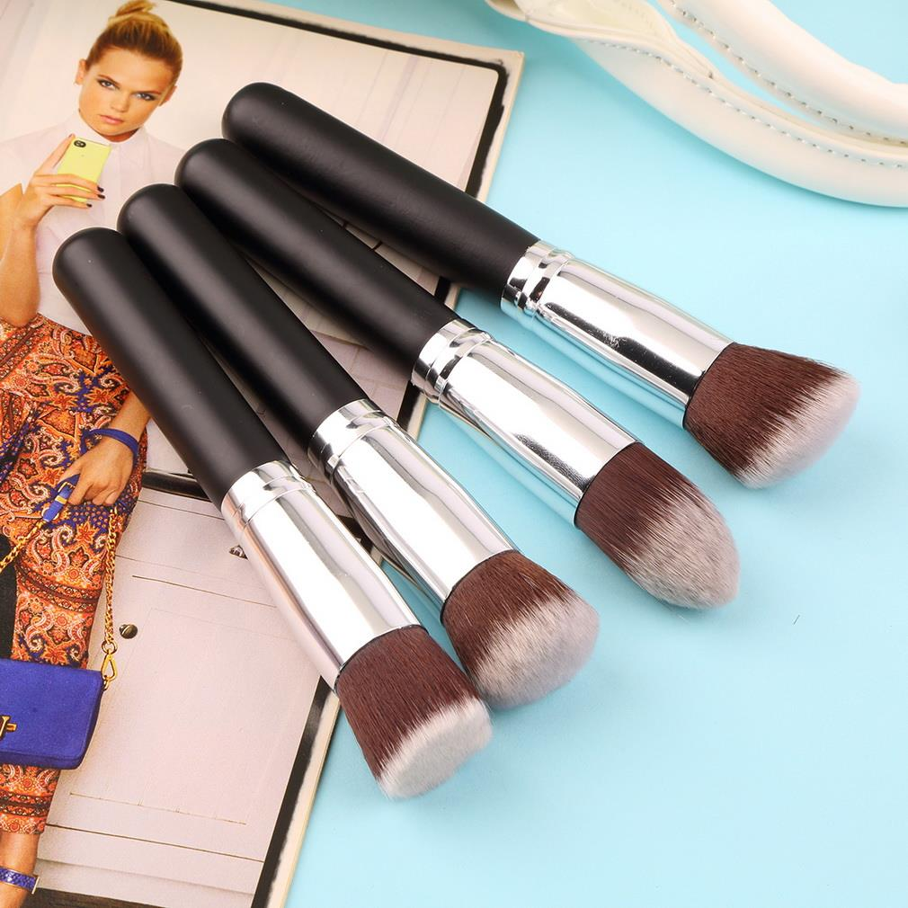 4pcs Professional Make up brushes set eyeshadow Foundation Mascara Blending Pencil Makeup brushes Cosmetic tool тушь make up factory make up factory ma120lwhdr04