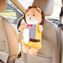 10 Models Cute Cartoon Car Tissue Bag Holder