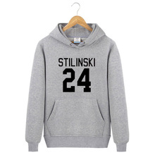 Palestino Men/Women Hoodies Wolf Stiles Stilinski Teen 24 Black Couples Hoodie Sweatshirt Pullover cotton