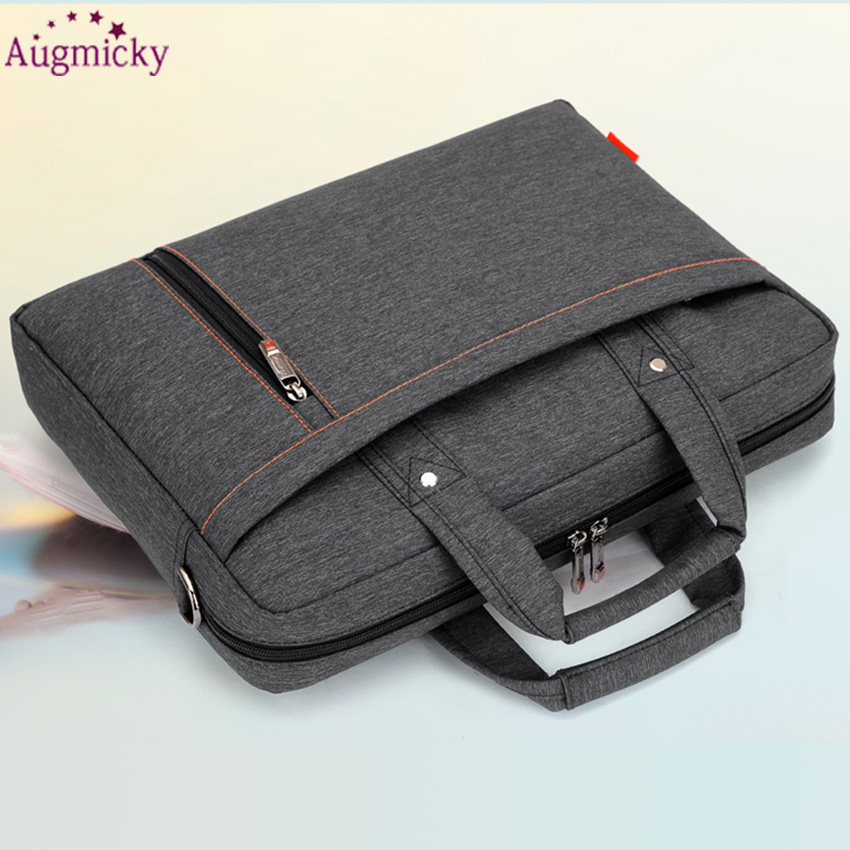 Image 4 - 2018 Big size computer bags Cases Shockproof airbag waterproof  Handbag luxury thick Notebook bag 12 13 14 15 15.6 17 17.3 inchLaptop  Bags