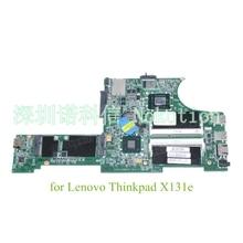 04Y1364 DA0LI2MB8F0 Main board For Lenovo Thinkpad X131E laptop motherboard SR0U4 I3-2375M Cpu 13.3 inch