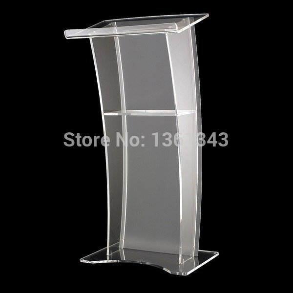 Clear Acrylic Podium Unique Design Hot Sale And Modern