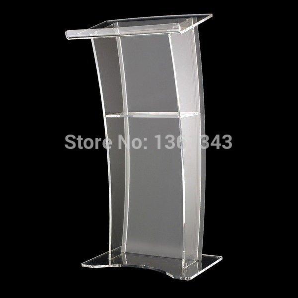 Clear Acrylic Podium Unique Design Hot Sale And Modern .acrylic Podium Pulpit Lectern Acrylic Podium