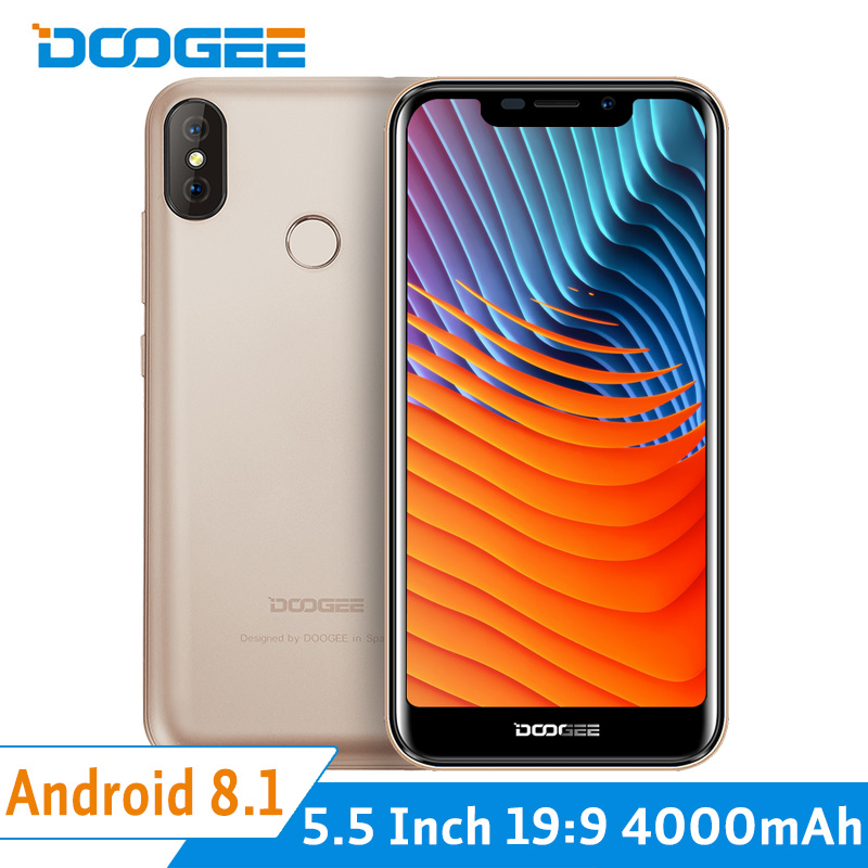 Doogee X70 3G Dual Sim Cards Smartphone Android 8.1 Oreo Quad Core 2G+16G 5.5 Inch 19:9 Full Screen 4000mAh Face ID FingerprintDoogee X70 3G Dual Sim Cards Smartphone Android 8.1 Oreo Quad Core 2G+16G 5.5 Inch 19:9 Full Screen 4000mAh Face ID Fingerprint