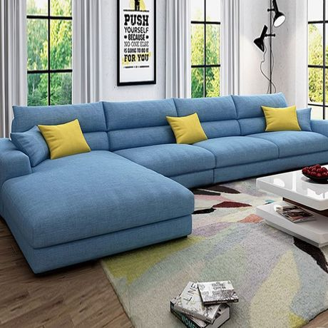 Living Room Sofas Living Room Furniture Home Furniture fabric sofa bed sectional sofa couch recliner 355*174*90cm minimalist hot recliner