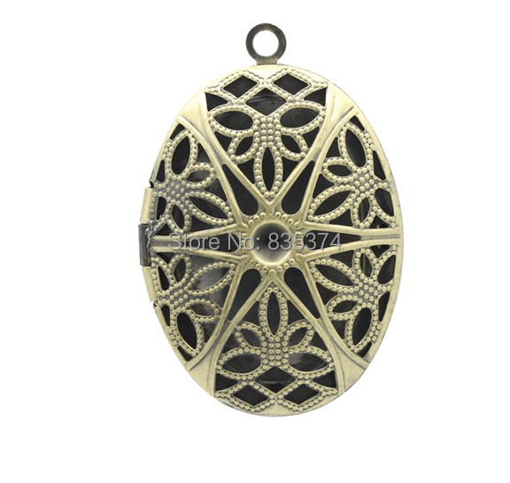 Free shipping 100pcs frame pendants picture photo locket hollow free shipping 100pcs frame pendants picture photo locket hollow oval bronze tone 3926mm mozeypictures Gallery