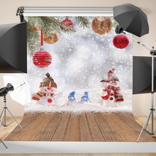 SHENGYONGBAO  Art Cloth Custom Photography Backdrops Prop Christmas day Theme Background 10833