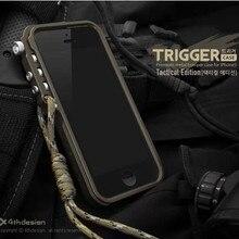 94c066beb09 Parachoques de Metal disparador de lujo para la carcasa del iphone 7, funda  de aluminio para iphone 6 6 S 6 S 7 Plus 5 5S SE 4 4.