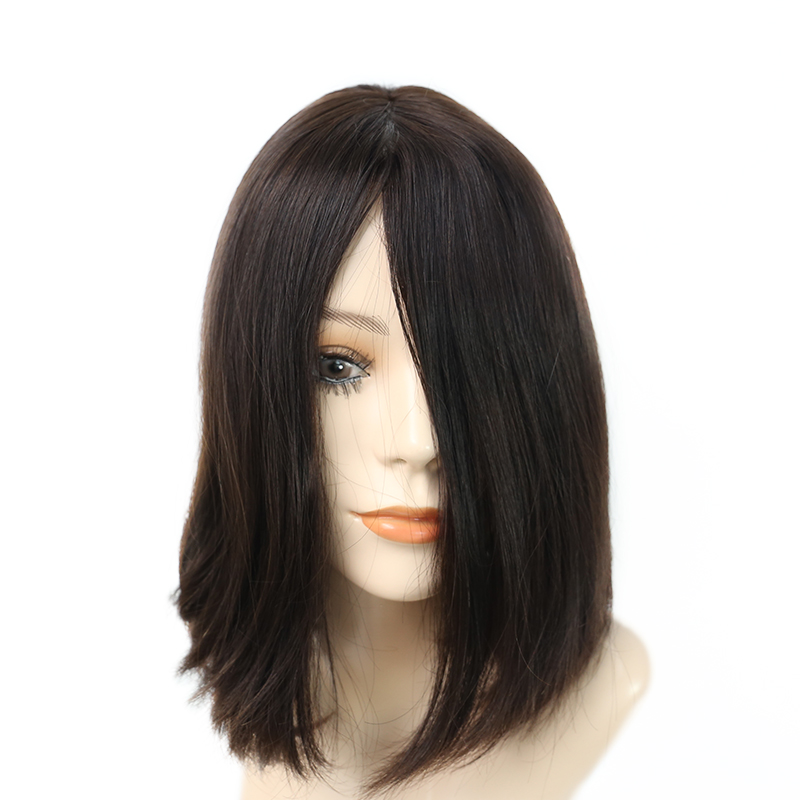 Dolago Jewish Wig Kosher Wigs Best Quality Silk Base Soft Virgin European Human Hair Wigs Double Drawn