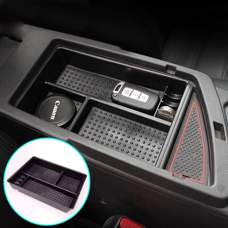 Arm Rest Center Console Storage Box Leather Cover for KIA 2016-2018 Niro